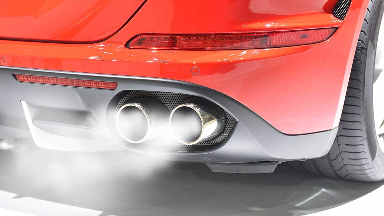 Car exhaust Saffron Walden