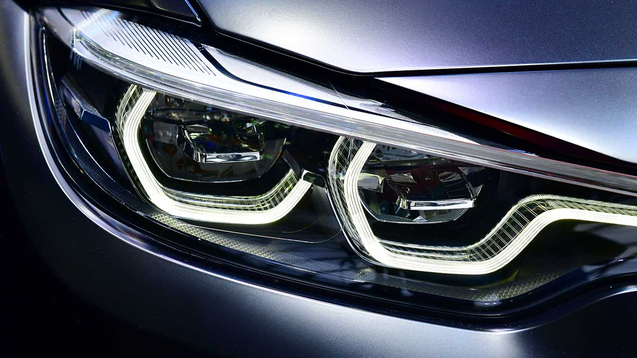BMW Car Headlight